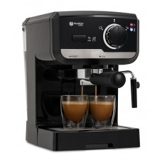 semi automatic coffee machine MC505BL, black