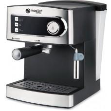 semi automatic coffee machine MC683B, black