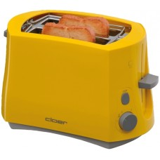 Toaster, yellow, CLO3317-2